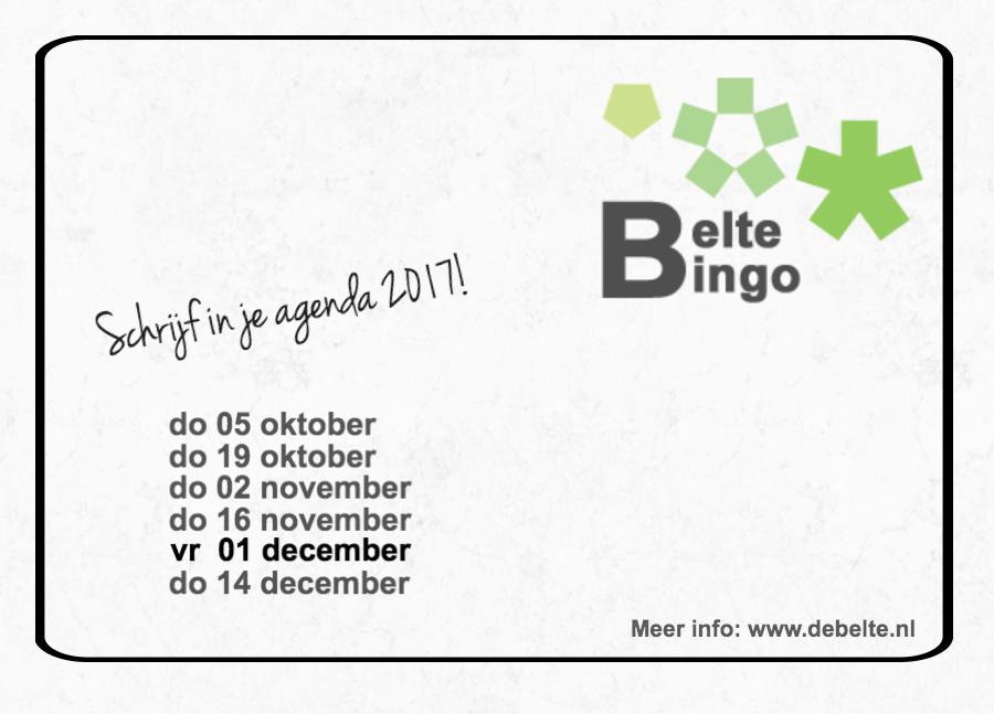 data belte bingo
