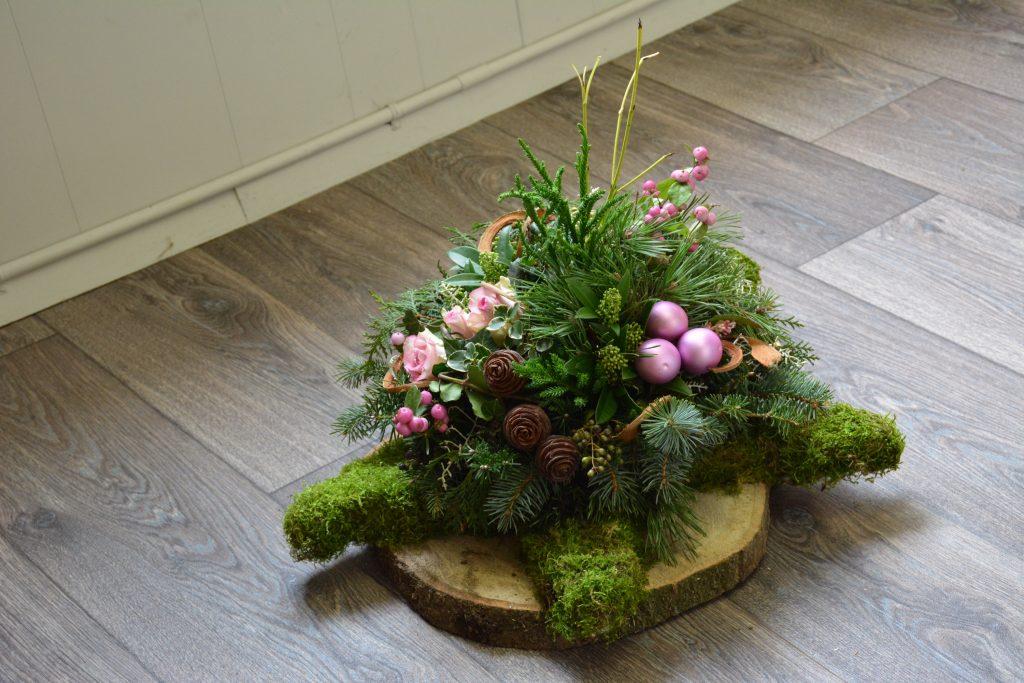 Iets Nieuws Workshop bloemschikken Kerst - De Belte @WU44